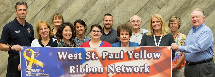 Yellow Ribbon Page Banner