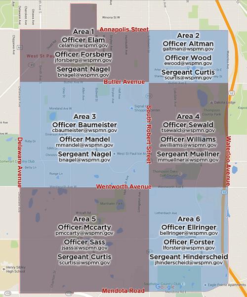 Officer Map 2016