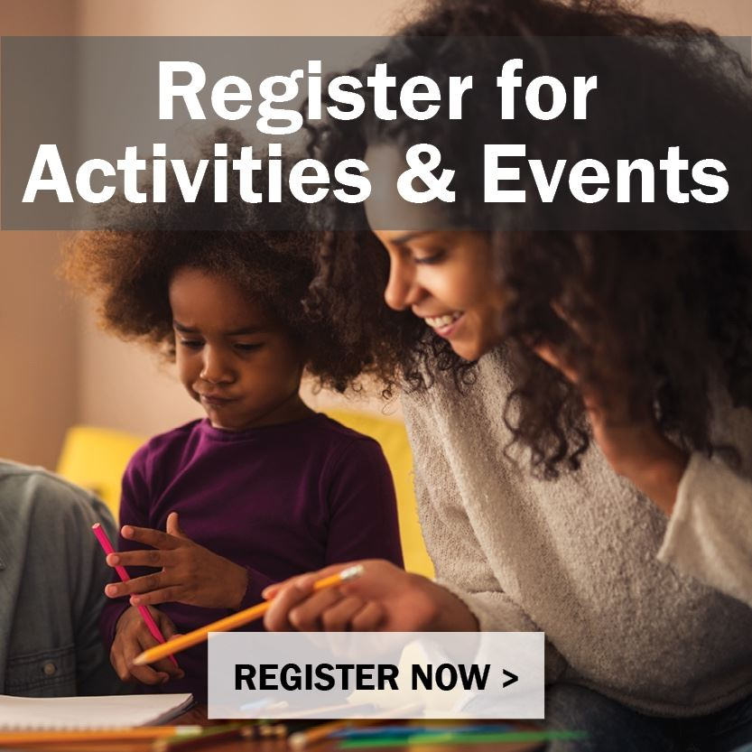 Register for Parks & Rec Activities & Events