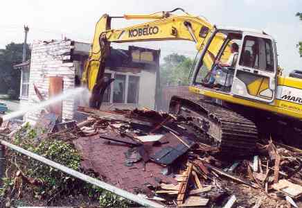 812 Dodd Rd Demolition